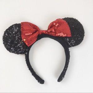 Disney Parks Minnie Mouse Sequins Ears